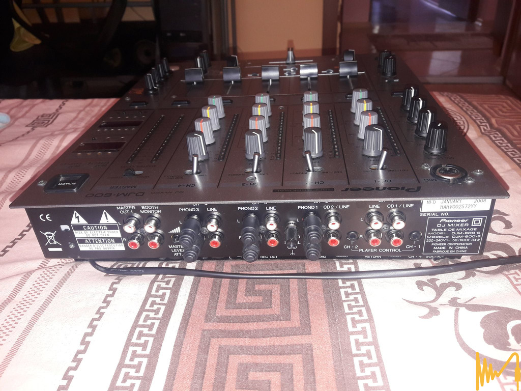Pioneer DJM600-S + 2xPioneer CDJ 1000 MK III - 5/8