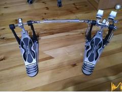 Двоен педал, кардан за барабани