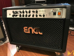 Engl Sovereign 100W 2x12 combo + Engl Z-9 footswitch + padded cover