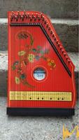 Цитра-Jubel Tone , GDR,33 струни, ключ, ноти